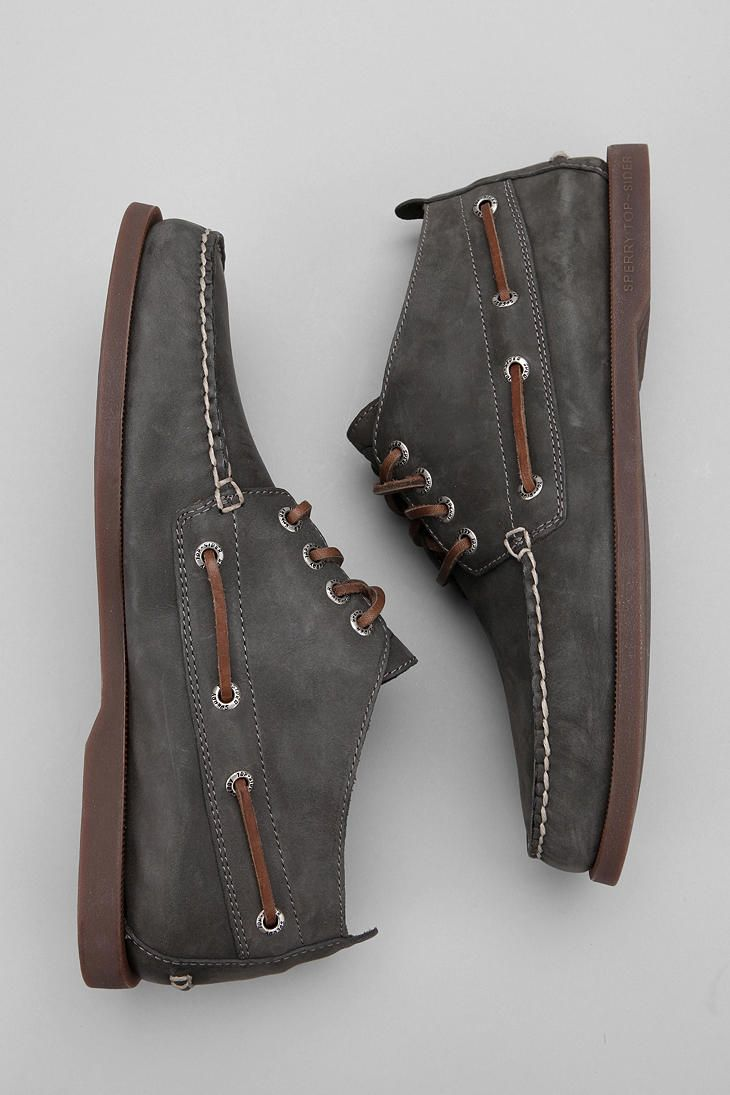 Sperry Top-Sider Relaxed Leather Chukka Boot $100