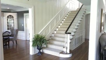 Verona Center Hall Colonial - traditional - staircase - newark - Barnett Design Build