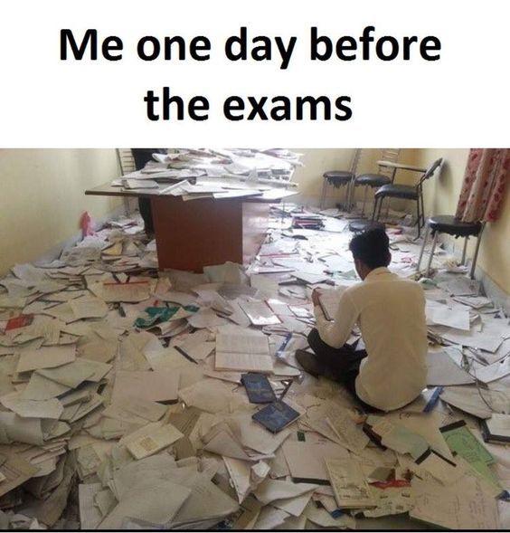 54 Memes for Finals Week -