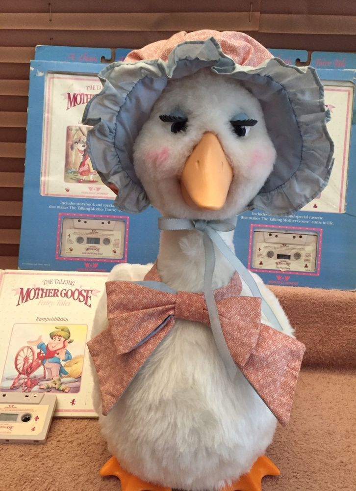 Details About 1986 Worlds Of Wonder Talking Mother Goose W