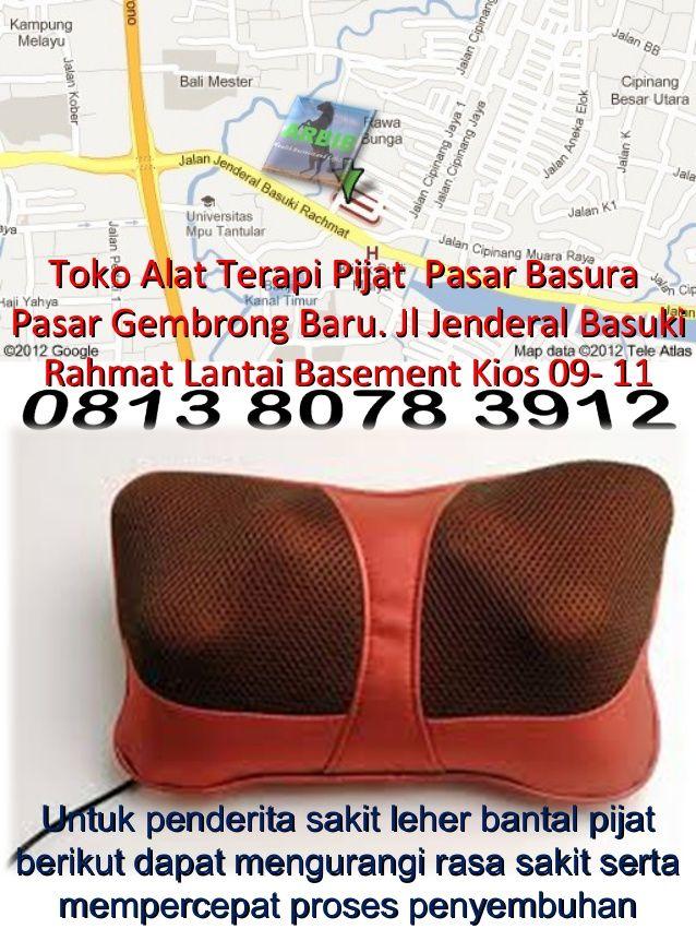 Bantal pijat Alat terapi untuk kesemutan, leher kaku , nyeri dan penyakit lainya by ARBIB Group Indonesia via slideshare