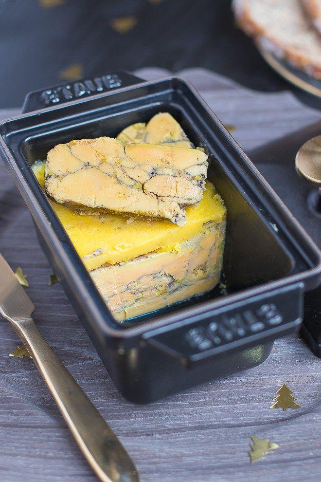 Foie gras en terrine mariné au Gewürtzraminer et épices à pain d'épices