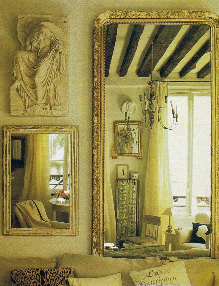 Vintage Elle Decor Photos Of Designer Stephen Shubel S Tiny 17th Century Paris Pied A Terre A