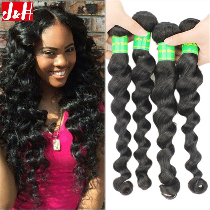 37 best httpaliexpressstore907127 images on pinterest find more human hair extensions information about 4pcslot best brazilian virgin hair weaves loose pmusecretfo Images