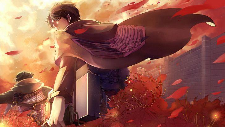 Eren Yeager Attack On Titan Anime Wallpaper