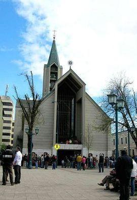 Frontis Catedral deValdivia