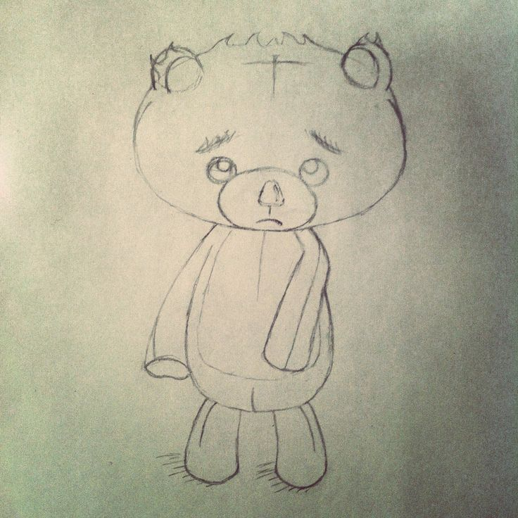#teddy #teddybear #drawing