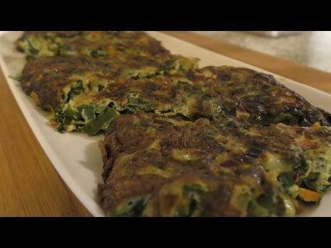 Spring Onion Frittata - YouTube