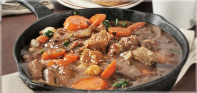 This Italian-inspired beef stew recipe is rich, high protein, low carb, under 250 calories, and simple to make. What more could you ask for?