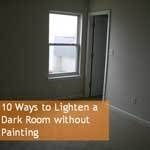 10 Ways to Lighten a Dark Room without Painting
