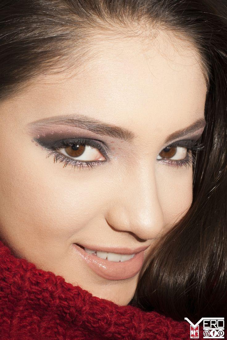 Winter fantasy makeup