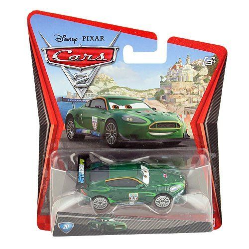 Disney / Pixar CARS 2 Movie 155 Die Cast Car Nigel Gearsley by Mattel Toys. $7.44. Originally released in 2011.. Ages 3 and up.. From Mattel. 1:55 Scale Die Cast Vehicle - Vehicle Measures Approximately 3 Inches Long. NIGEL GEARSLEY #20 * CARS 2 * Disney / Pixar 1:55 Scale 2011 Die-Cast Vehicle. All your favorite characters from the Disney Pixar film, CARS 2, in 155th scale. With authentic styling and details, these die cast characters are perfect for recreating ...