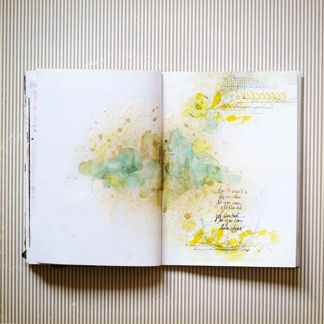 Simple paint, simple journaling.