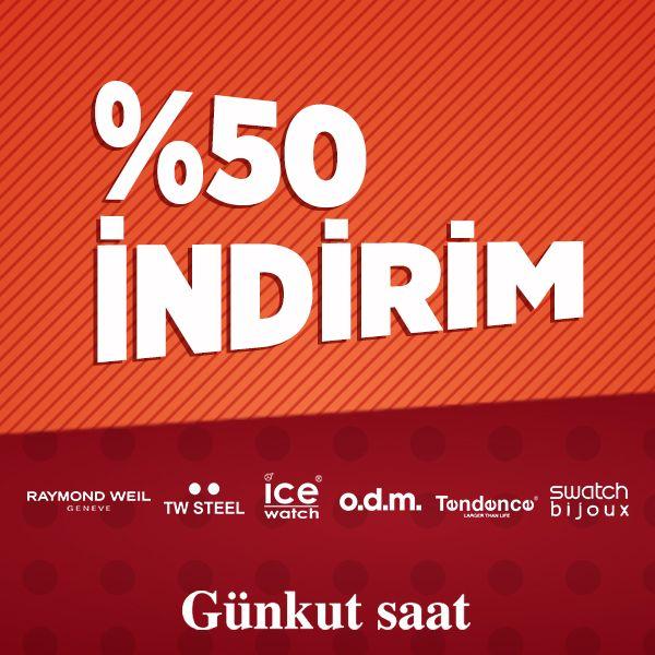 Yaza damgasını vuracak en özel modeller, %50 İndirim'de!  http://www.gunkutsaat.com/-50-indirimli-urunler
