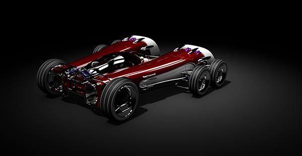 Equinox - Race Car Concept by Ben Tabbitt >> Yanko Design