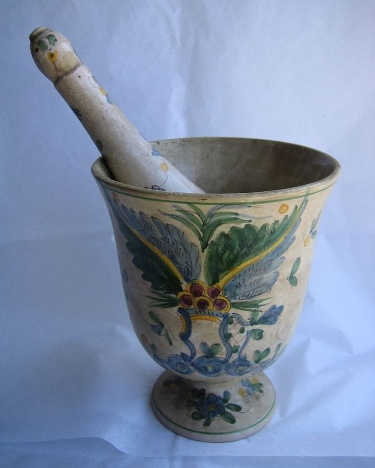 vintage marble mortar