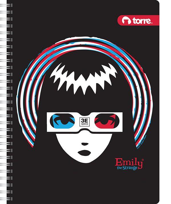 EMILY THE STRANGE Colección Cuadernos Torre on Behance