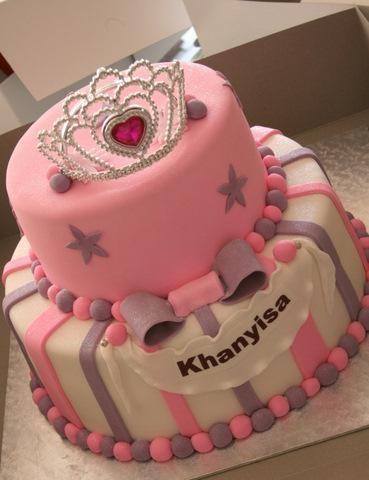 Princess Cake by Decadent Cupcakes