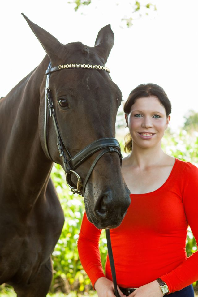 Portrait with a horse, Photographer Ada Zyborowicz, Vorden, The Netherlands, www.azfoto.nl