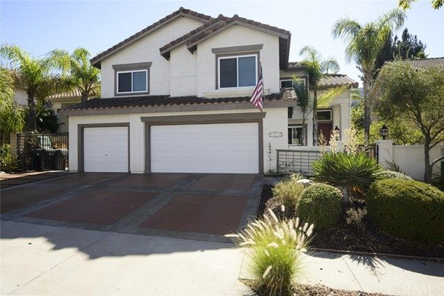 3232 Crystal Ridge Circle, Corona CA 92882 - Turn-key, beautiful pool home in the Sierra Del Oro community. Recently remodeled backyard 35x15 ft. Deck, LED lighting, gas bbq with burners, sink, fridge, tv mount, gas fire pit all fully permitted along with pebble sheen pool, slide, 2 waterfalls and an auto sweeper. New custom construction dual pane tinted windows and sliding doors, comes with transferable lifetime warranty. Stunning open floor plan, cathedral ceilings with lots of natural…
