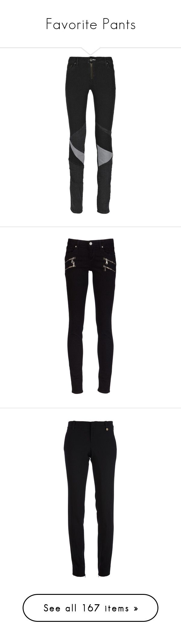 """Favorite Pants"" by gracebeckett ❤ liked on Polyvore featuring jeans, pants, bottoms, trousers, colorful skinny jeans, leather patch jeans, denim skinny jeans, leather jeans, zipper skinny jeans and pantalones"