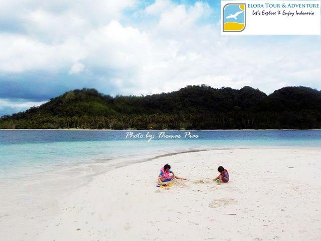 Pantai Pulau Kelagian Lunik, Lampung