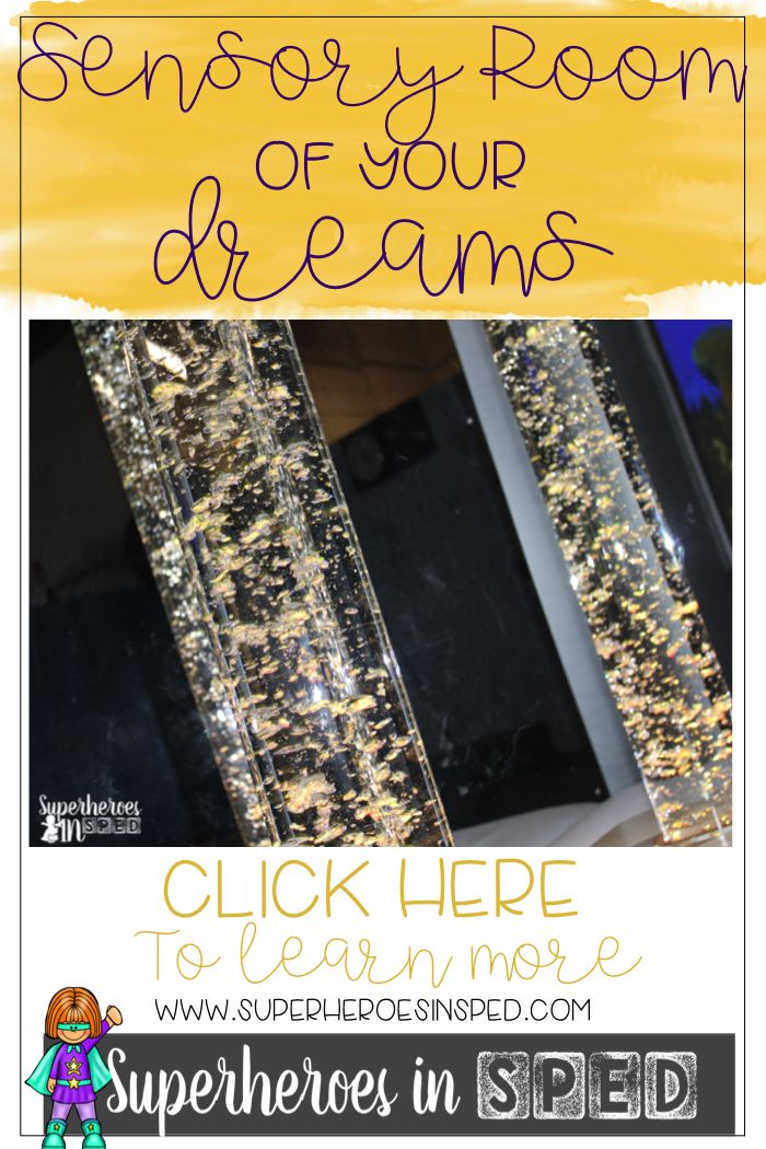 Check out my dream sensory room! I had a LARGE budget to make it EXACTLY what I wanted! Plus check out how to get your own sensory room on a budget!