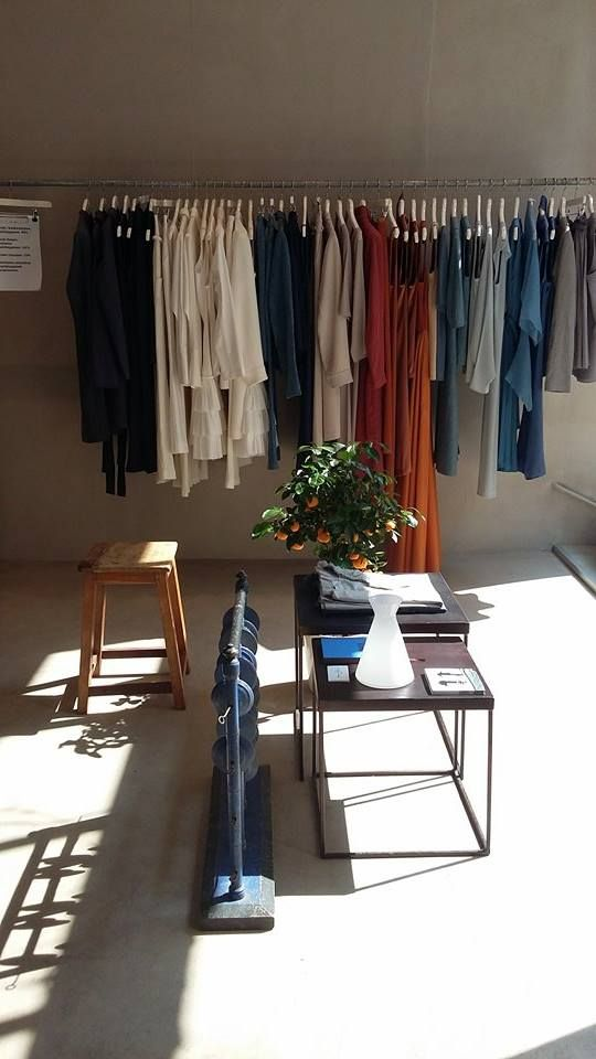 Beautiful summer light in Anna Ruohonen Paris  Concept store Helsinki, Annankatu 13
