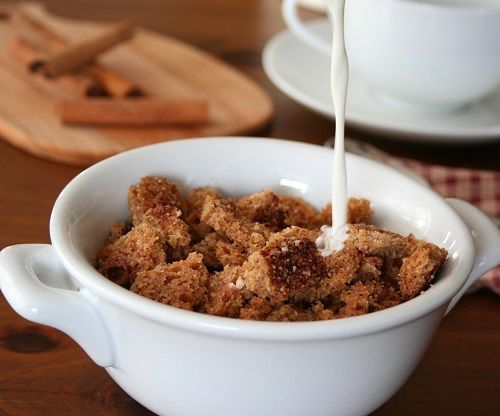 Low Carb Cinnamon Crunch Cereal from All Day I Dream About Food