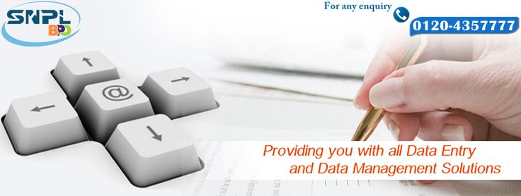 Providing you with all Data Entry and data entry Management Solutions