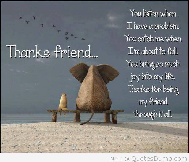 Thanks Friend Best Tumblr Quotes Meaningful Quotes And Sayings