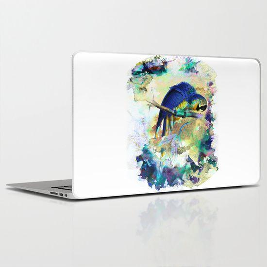 Parrot Bird - LAPTOP SKINS