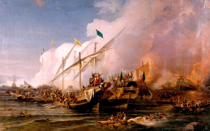 The regular Ottoman fleet came to dominate the Eastern Mediterranean after its victory at Preveza in 1538.