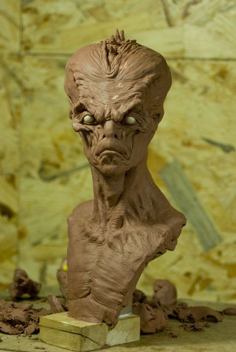 Cyril ROQUELAINE - Sculpteur - Modeleur - 1-Sculptures