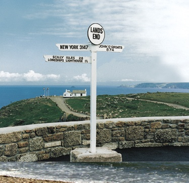 The Famous First and Last Inn at Sennen, Land's End, England
