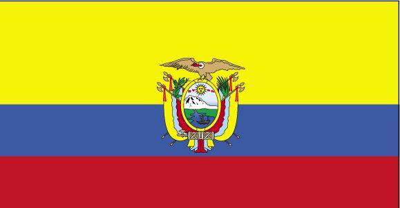 Country Flags: Ecuador Flag