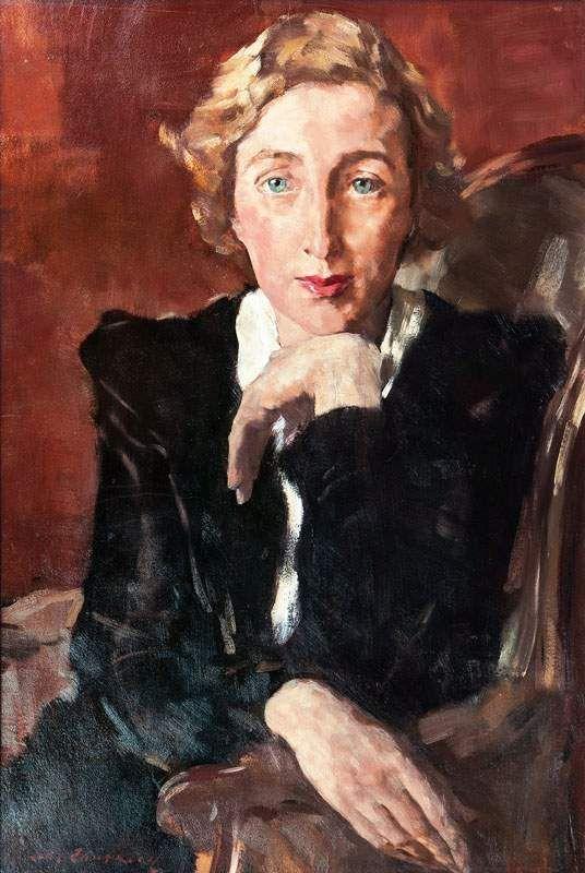 Lotte Laserstein (Preußisch Holland/Königsberg 1898 - Kalmar/Schweden 1993) Portrait der Margit Si