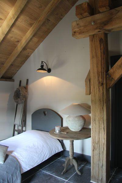 Landelijke slaapkamer | Kleur & Sfeeradvies B.V. | www.kleursfeer.nl