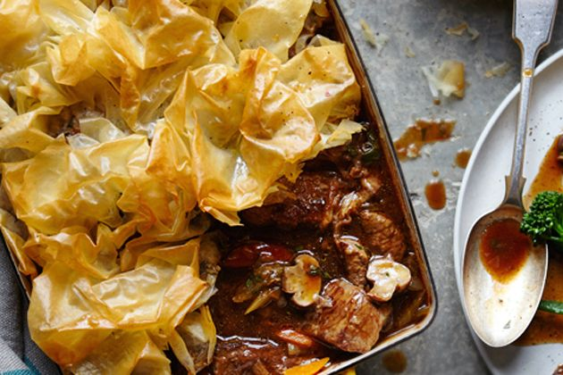 Joe Wicks, the Body Coach: Beef and Mushroom pie