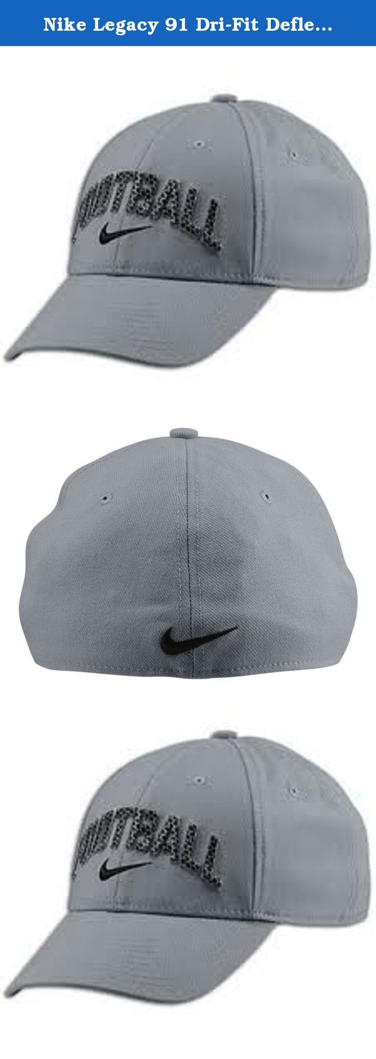 Nike Legacy 91 Dri-Fit Deflex Football Cap Gray Misc. Color GraySize Misc.