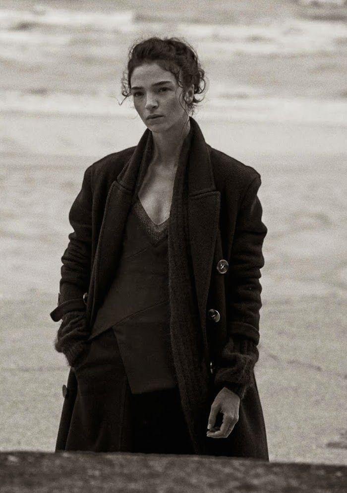 Vogue Italia September 2014   Mariacarla Boscono by Peter Lindbergh