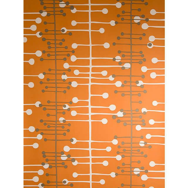 BuyMissPrint Muscat Wallpaper, Orange, MISP1021 Online at johnlewis.com