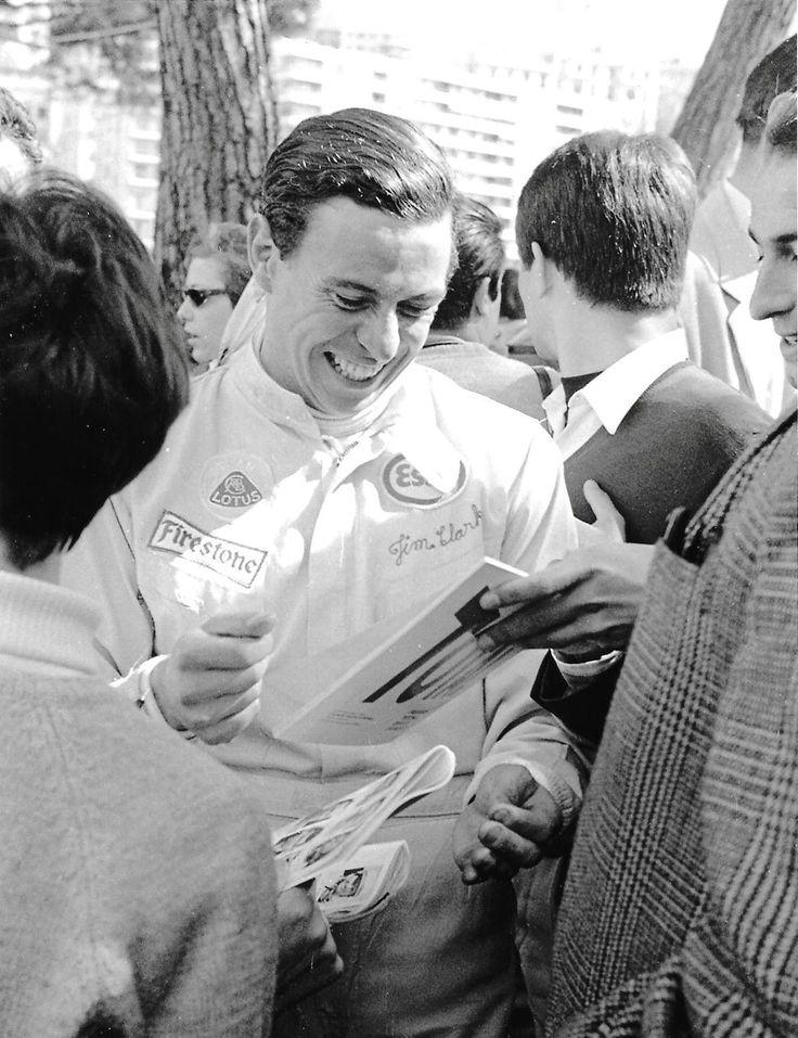 JIM CLARK LOTUS DRIVER PHOTOGRAPH FOTO MONACO GRAND PRIX 1967 GP F1 2 | eBay