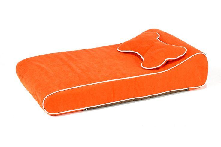 Tangerine Modern Indoor/Outdoor Dog bed
