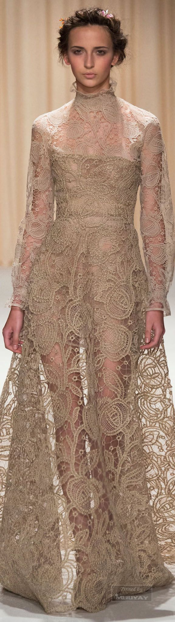⌘ l o v e l i e s t l a c e {dear lace, you are so very lovely} Valentino.Spring 2015 Couture.