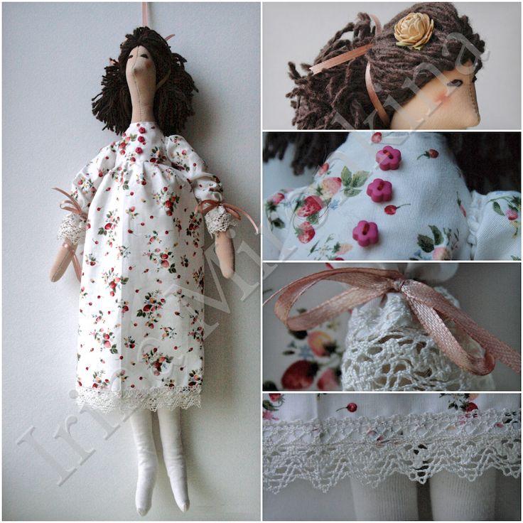 Изделие: Кукла Тильда Материал: хлопок, кружево винтажное, трикотаж хлопок