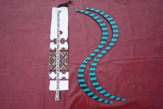 Buugeng Flow S Staff, juggling, 2 colors (turquoise ,black) with stripes model , handmade, hand painted, best Quality!  Bonus: free bag!