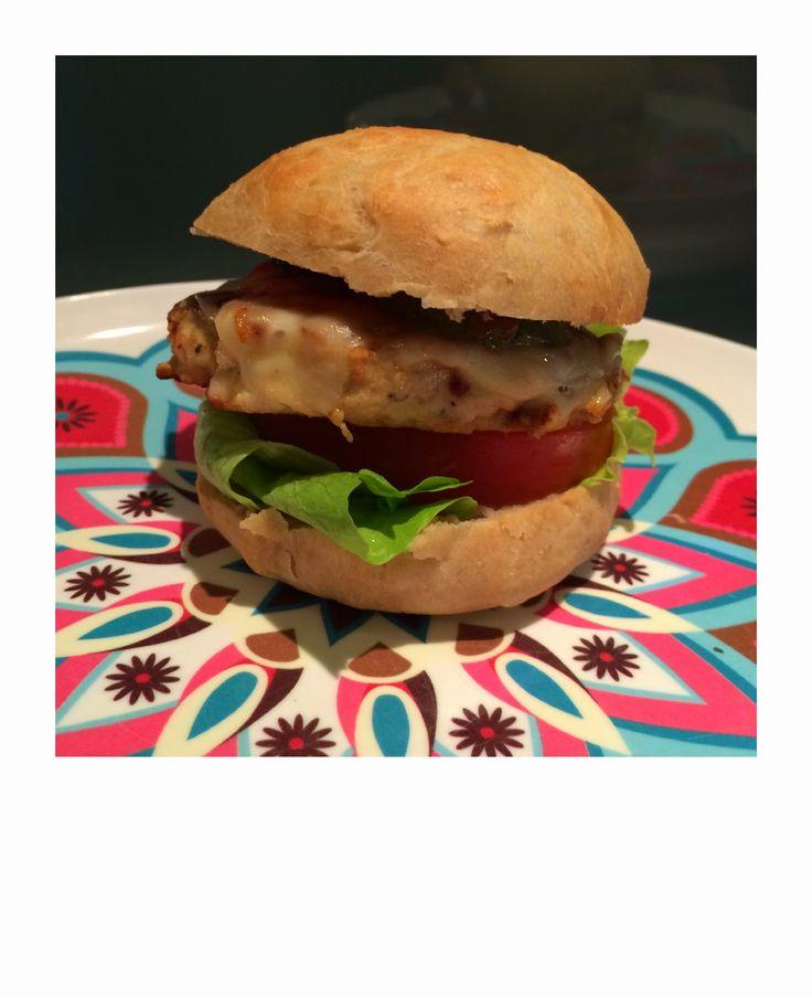 hamburgerbrød av havre og spelt