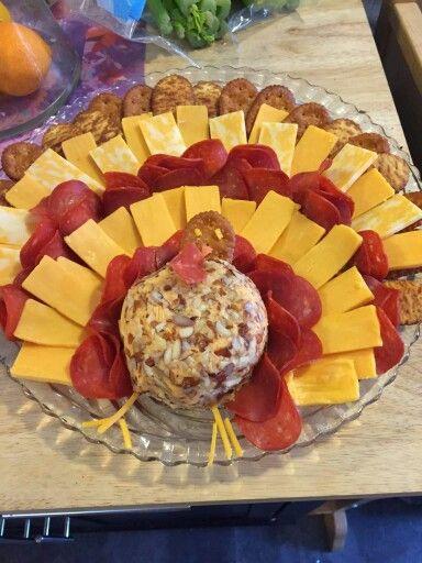 Turkey cheese tray