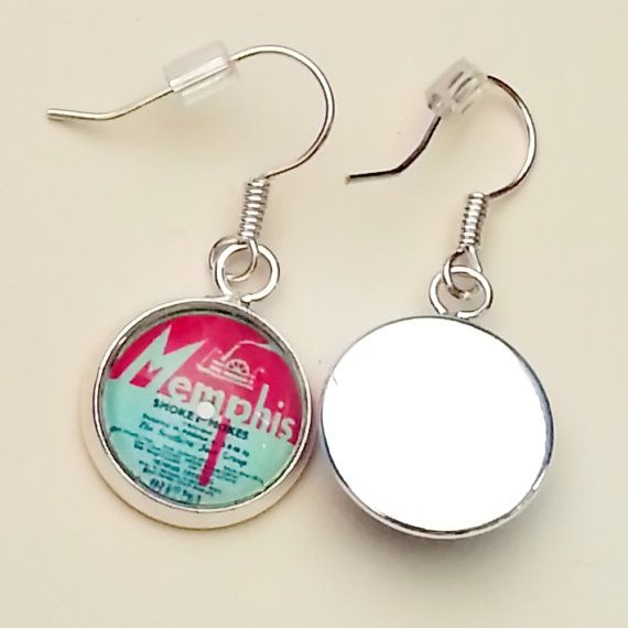 Check out this item in my Etsy shop https://www.etsy.com/au/listing/204673230/retro-record-label-earrings-created-with